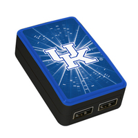 University of Kentucky Custom Dual Port Wall Charger