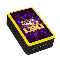 Louisiana State University Custom Dual Port Wall Charger