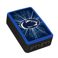 Penn State University Custom Dual Port Wall Charger