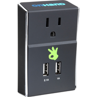 OnHand Wall Outlet with Dual USB ports