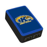 US DIGITAL MEDIA, INC WP 200X Custom Logo Dual Port USB Wall Charger