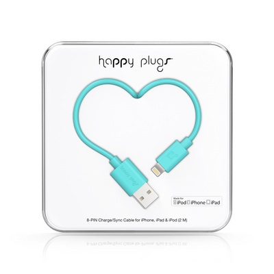 Happy Plugs Lightning Turq