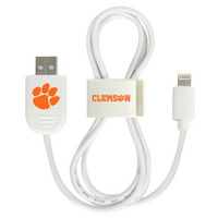 Clemson University Custom Lightning Cable Clip