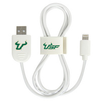University of South Florida Custom Lightning Cable Clip