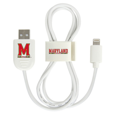 University of Maryland Custom Lightning Cable Clip
