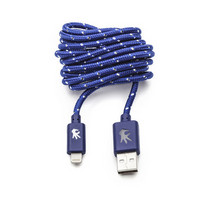 OnHand, LLC Everlasting Nylon Cable USB to Lightning 8Pin 5 Feet Blue