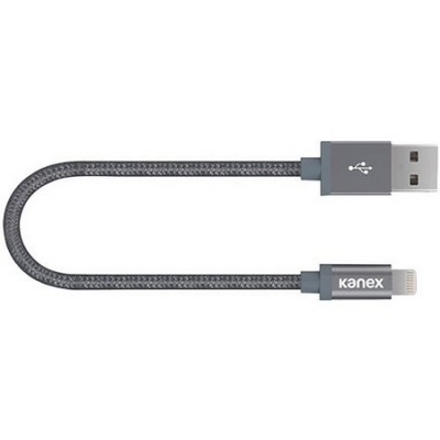 KANEX LIGHTNG CABLE, 6IN, SPACE GRAY