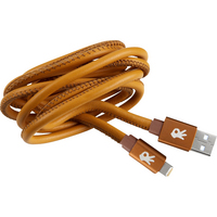 OnHand, LLCGenuine Leather Charge and Sync Cable Brown
