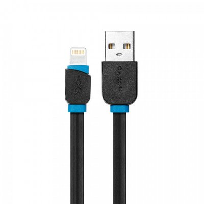 Moxyo MiaFlatLightning Cable Black3FT