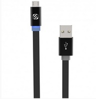 SCOSCHE LED MICRO USB CABLE, 3 FEET
