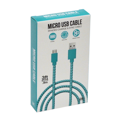 GEMS Micro USB Cable Teal