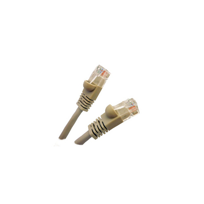 25 FOOT CAT6 ETHERNET CABLE GREY