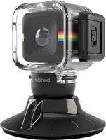 Polaroid Cube Waterproof Case & Suction Mount Combo
