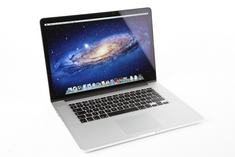 MacBook Pro 15 inch with Retina. CCI First Year
