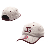 Zephyr Womens Slouch Gray Curved Bill Adjustable Velcro hat