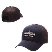 Zephyr Adult Landmark Curved Bill Trucker Adjustable Snapback Hat