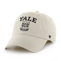 Yale Bulldogs Twin 47 Distressed Cleanup Twill Hat