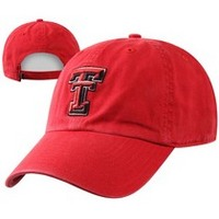 Texas Tech Red Raiders Twin 47 Distressed Cleanup Twill Hat