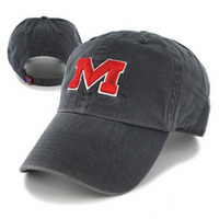 Ole Miss Twin 47 Distressed Cleanup Twill Hat