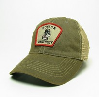 Boston Terriers Legacy Adjustable Washed Twill Hat