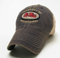 Ole Miss Legacy Adjustable Washed Twill Hat