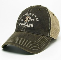University of Chicago Legacy Adjustable Washed Twill Hat