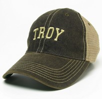 Troy University Legacy Adjustable Washed Twill Hat
