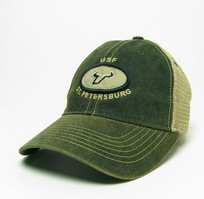 South Florida Bulls Legacy Adjustable Washed Twill Hat