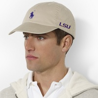 LSU Tigers Polo Ralph Lauren Player Hat