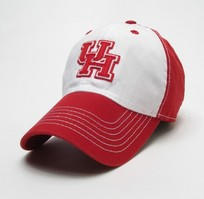 Houston Cougars Legacy Adjustable Washed Twill Cap