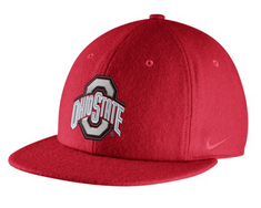 Nike Ohio State Wool Relaxed Adjustable Cap