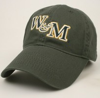 William and Mary Legacy Fitted Washed Twill Hat