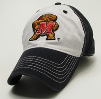 University of Maryland Legacy Fitted Washed Twill Hat