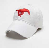 SMU Mustangs Legacy Fitted Washed Twill Hat