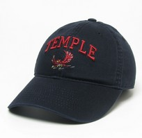 Temple Legacy Fitted Washed Twill Hat