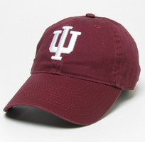 Indiana Hoosiers Legacy Fitted Washed Twill Hat