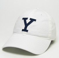 Yale Bulldogs Legacy Fitted Washed Twill Hat