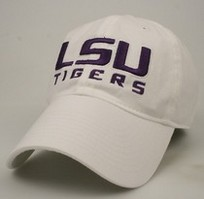 LSU Tigers Legacy Fitted Washed Twill Hat