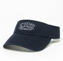 Emory Eagles Legacy Adjustable Visor