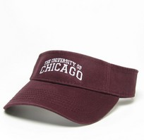 University of Chicago Legacy Adjustable Visor