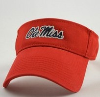 Ole Miss Legacy Adjustable Visor