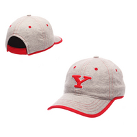Zephyr Redshirt Womens Gray Weekend Curved Bill Adjustable Velcro hat