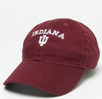 Indiana Hoosiers Legacy Toddler Adjustable Washed Twill Hat