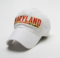 University of Maryland Legacy Youth Adjustable Washed Twill Hat
