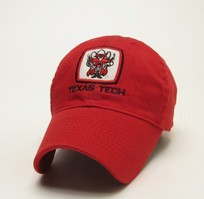 Texas Tech Red Raiders Legacy Youth Adjustable Washed Twill Hat