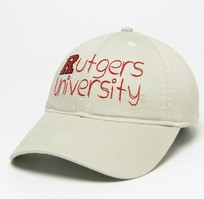 Rutgers Scarlet Knights Legacy Youth Adjustable Washed Twill Hat