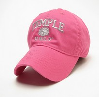 Temple Legacy Youth Adjustable Washed Twill Hat