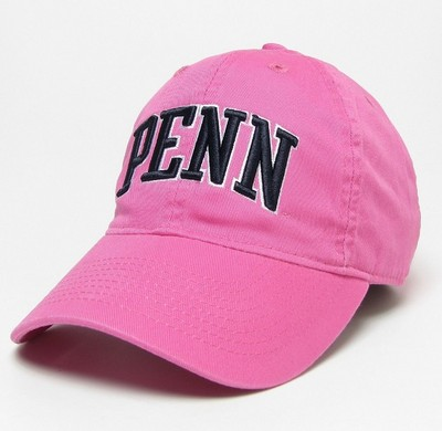 Penn Legacy Youth Adjustable Washed Twill Hat