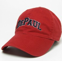 DePaul Legacy Youth Adjustable Washed Twill Hat