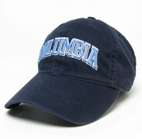 Columbia University Legacy Youth Adjustable Washed Twill Hat